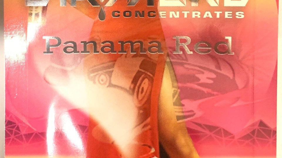 Panama Red  (shatter)