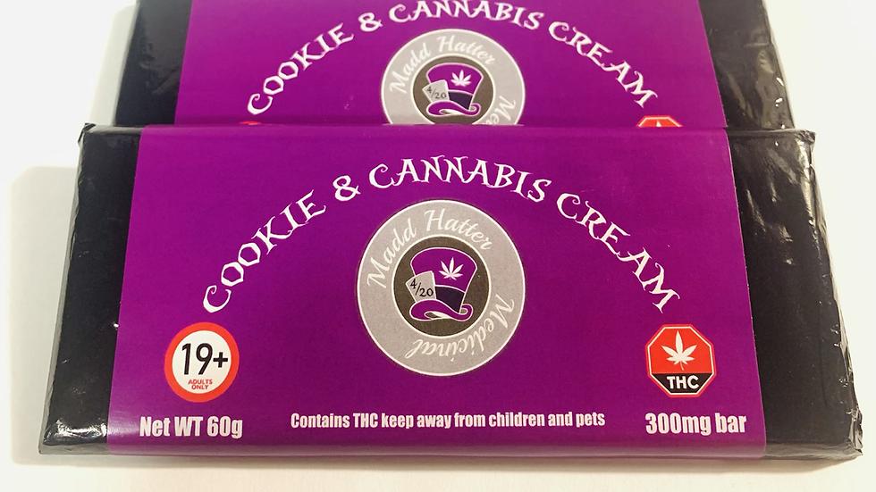 300mg Cookie n Cannabis bar