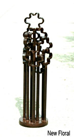 """2013 RR track anchors, gauge rods, miscellaneous steel scrap approx. 28"""" x 7"""" approx. 67 lbs."""