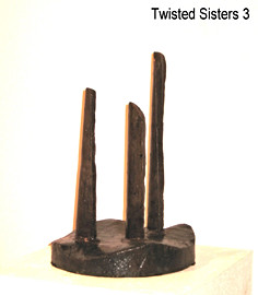 """November 2011 Thick walled pipe, end of a forging 11"""" base diameter x 17"""" height approx. 65 lbs."""