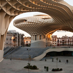 Metropol Parasol Sevilla İspanya