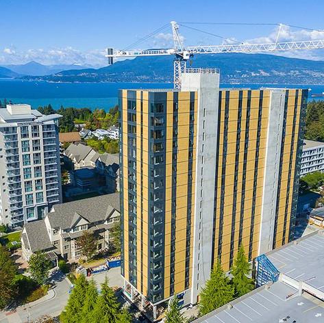 18 katlı Yurt binası Ahşap CLT