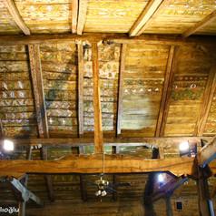 Göğceli camii tavan