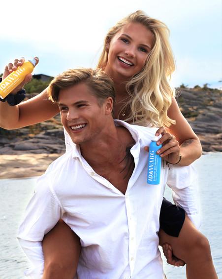 Photo: Emelie Eriksson  Hair & Makeup: Emelie Eriksson  Model: Edvin Berglund, Siri Berglund