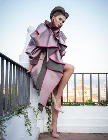 Photography: Marie Maurice  Makeup: Kikue Ichihashi  Hair: Emelie Eriksson  Designer: Yana Myronova  Model: Yuliya Herrera