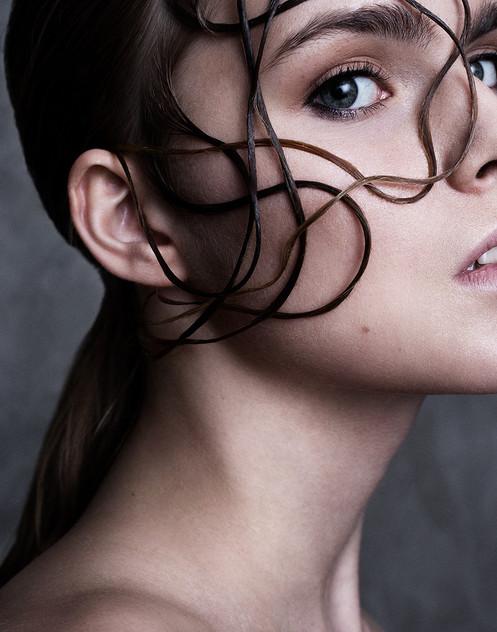 Hair and makeup: Emelie Eriksson  Photography: Hedda Axelsson  Model: Allis