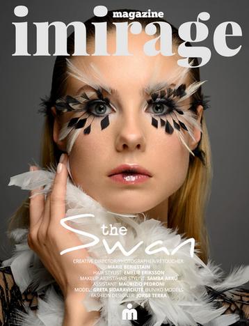 Photo: Marie Beriestain  Assistant: Maurizio Pedroni  Hair: Emelie Eriksson  Makeup: Samba Arru  Model: Greta Sidaraviciute  Fashion designer: Jorge Terra