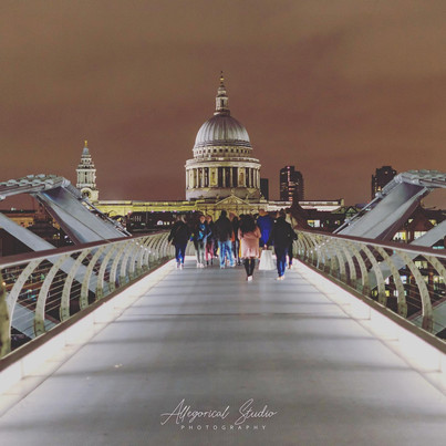 Millenium Bridge - St Paul's