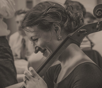 Playing the Cello - Wedding
