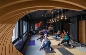 Yoga photoshoot London - Jessica Sugden