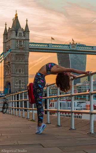 Yoga Instructor London - Jessica Sugden