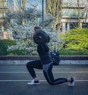 Outdoor training - photoshoot
