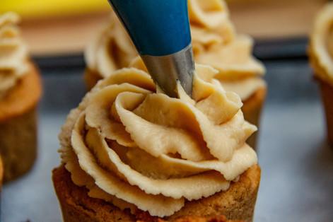 Maple Pecan Cupcake