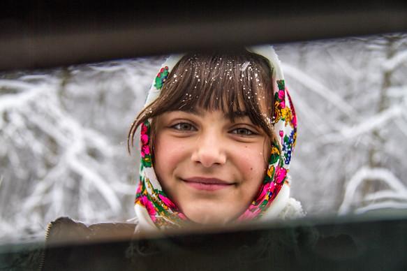 Traditional Romanian Girl