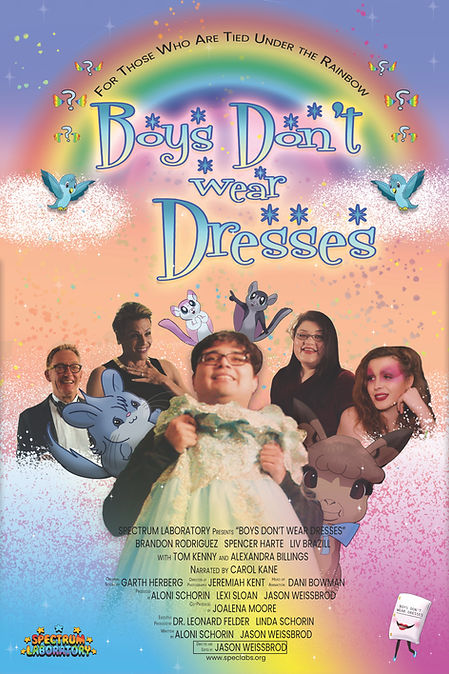 %22Boys Don't Wear Dreses%22 A Poster (s