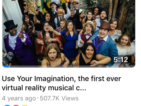 Some More Good News & Use Your Imagination VR Music Video!