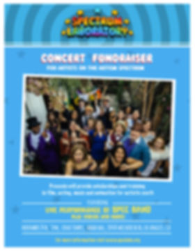 Concert Fundraise Nov 24th!