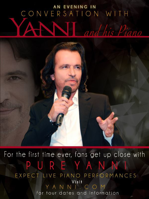 Nova Turnê do Yanni!