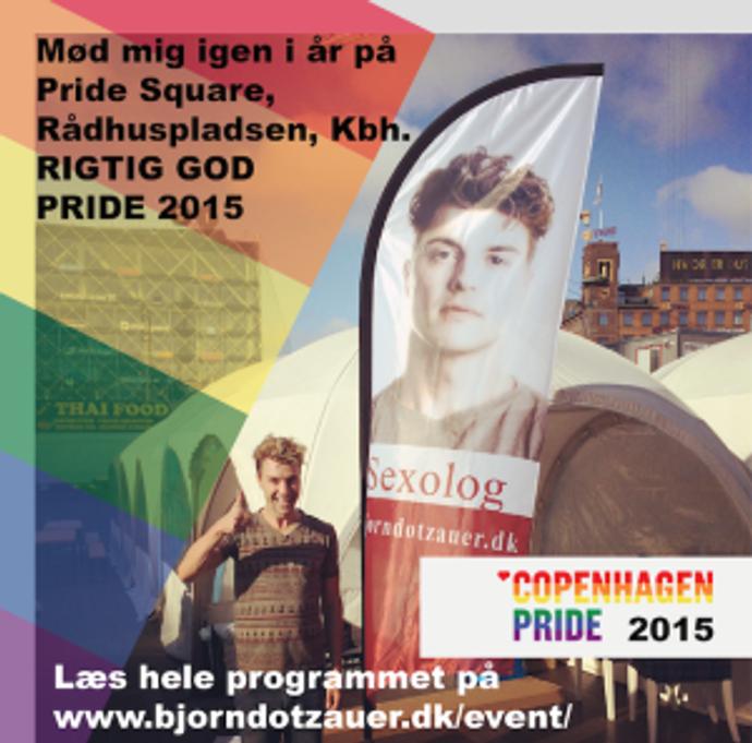 Bjorn Dotzauer Copenhagen Pride eventprogram 2015