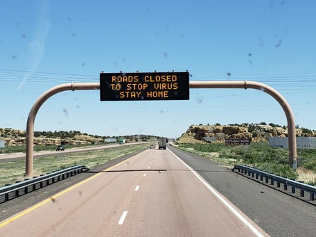 Travel advisory for those traveling through Gallup, New Mexico.