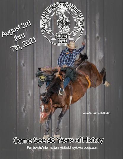 Sidney Iowa Championship Rodeo