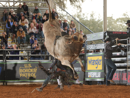 PBR defies the odds and holds their first event; top cowboys don't fare so well.