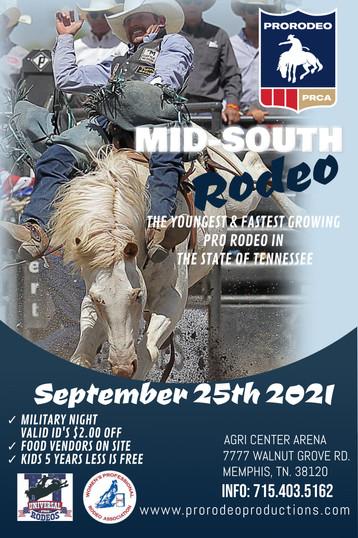 PRCA Rodeo Memphis, TN