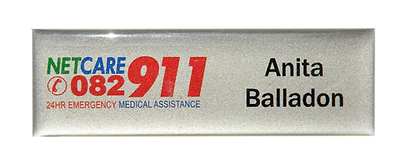 NetCare 911 Emergency Badge