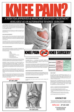 Knee Operation Ad