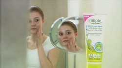 'Simple Spotless Skin' commercial