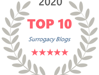 AFS Included In The Top 10 Surrogacy Blogs By MySurrogateMom.com