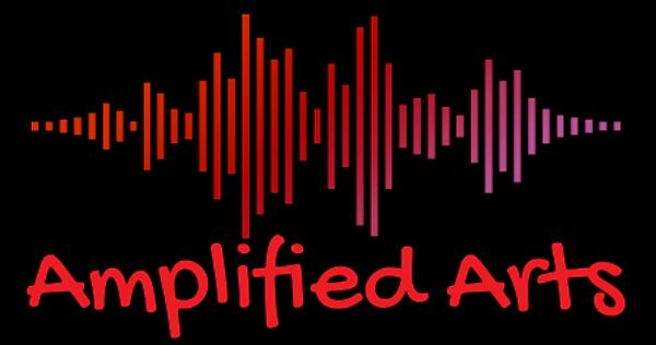 Amplified Arts Logo 12- Black background