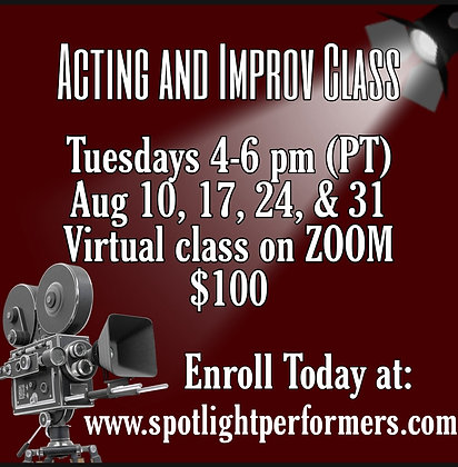 Acting and Improv Class