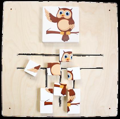 Labyrinth Puzzle - Eule