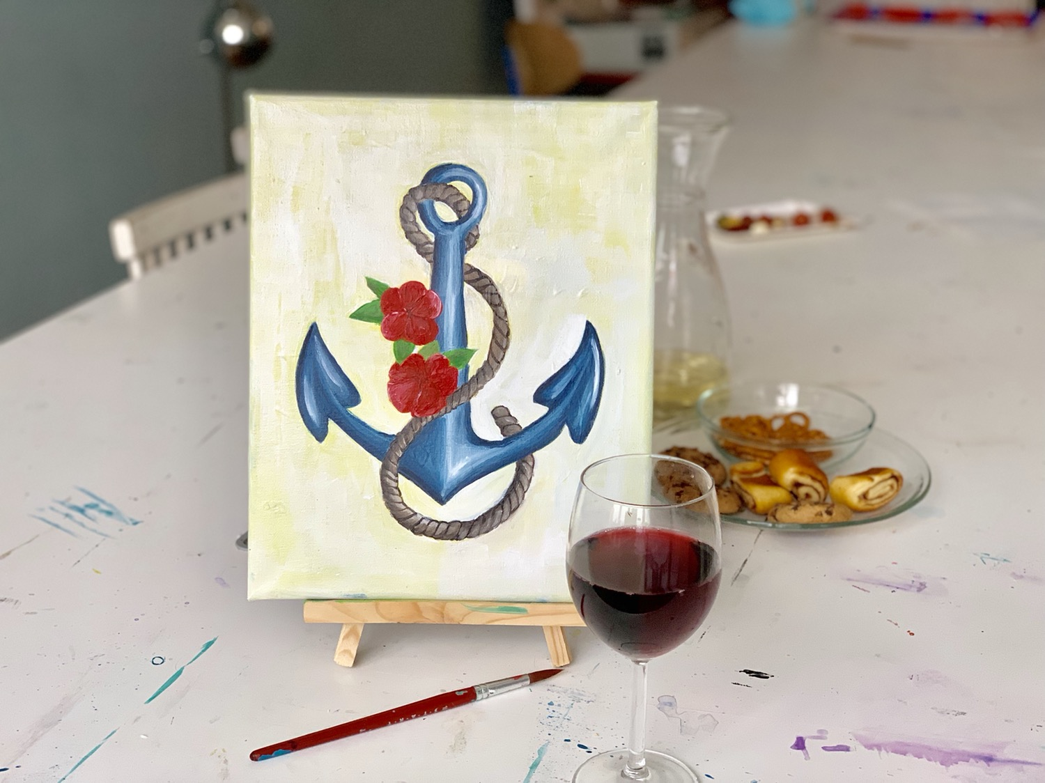 Canvas & Wine