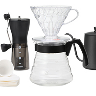 Home Brewing Set with Grinder