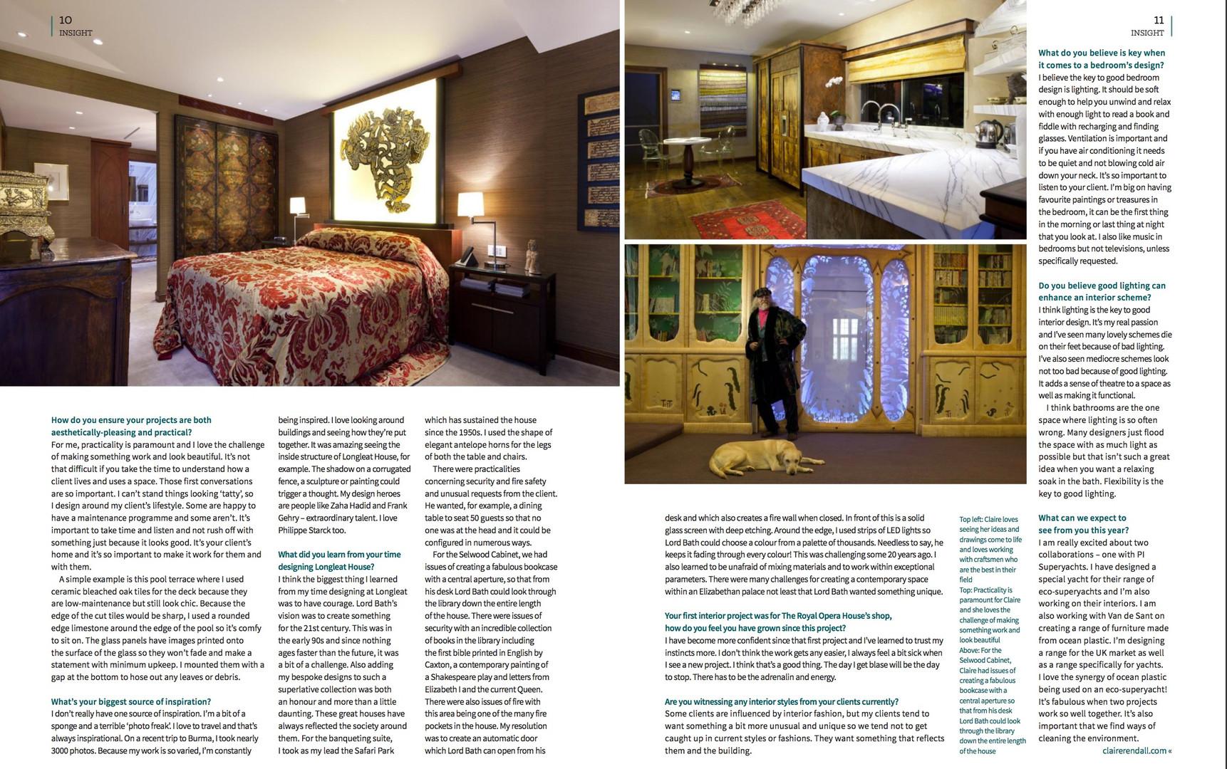 INEX Page 2 Claire rendall interior design