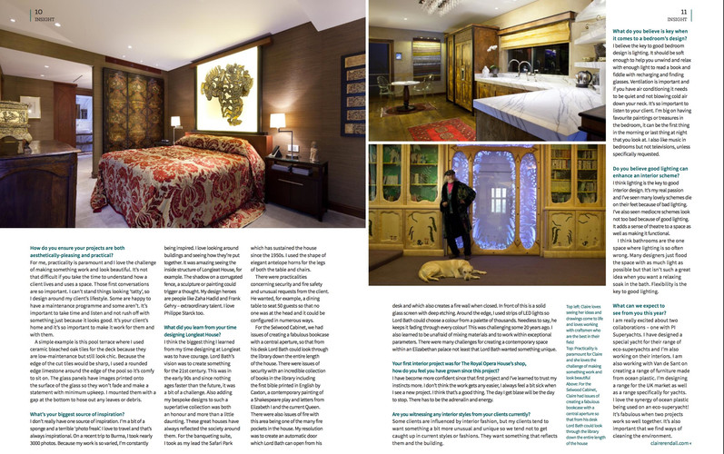 INEX Page 2 Claire rendall interior design