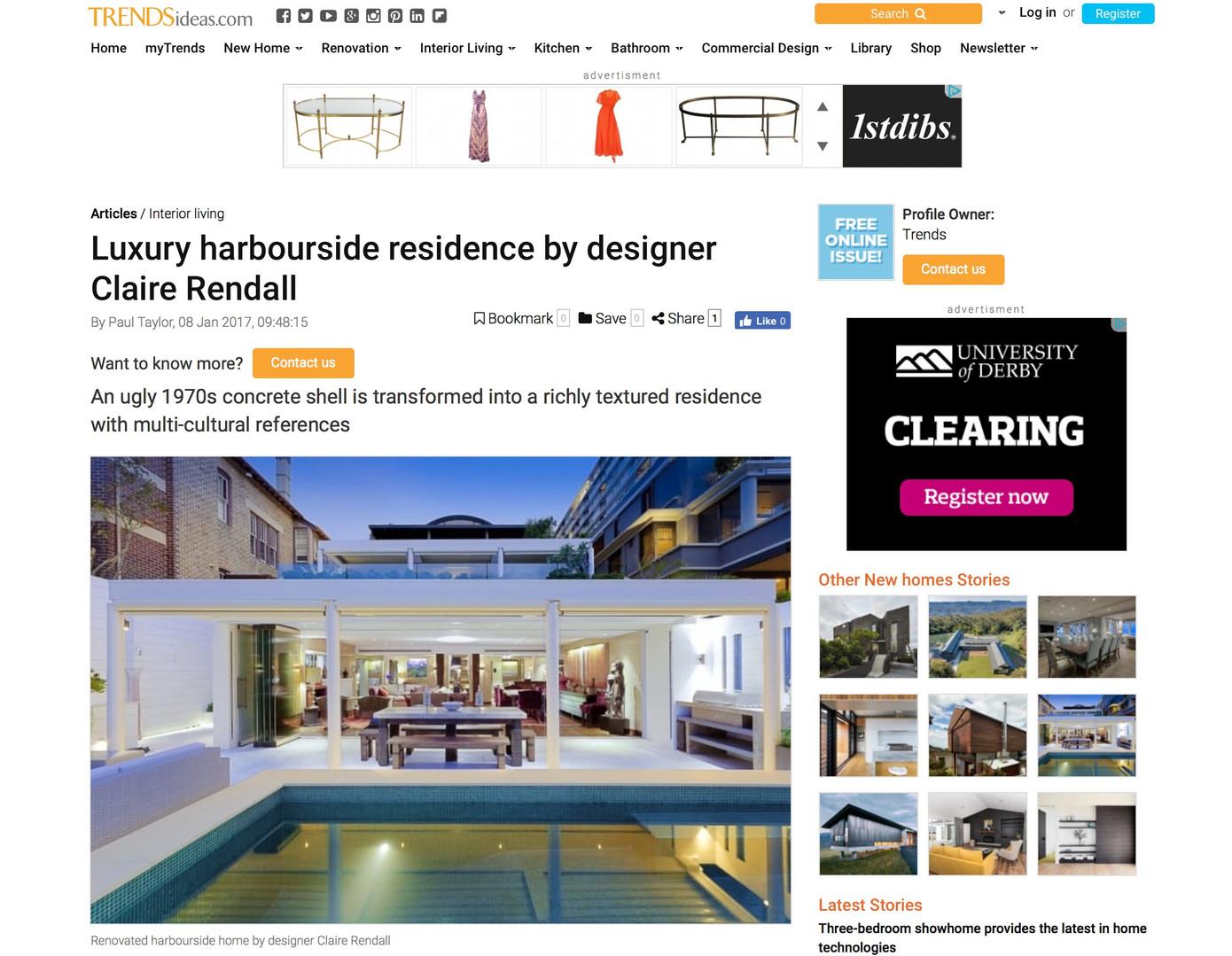 Trends Ideas.com Claire rendall interior design