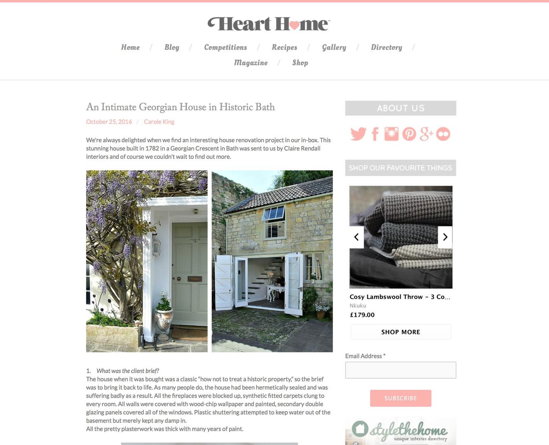 Claire rendall interior design Heart2Home