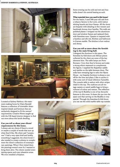 Claire rendall interior design Creative Homes 2