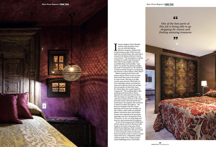 Claire rendall interior design Better Homes Page 2