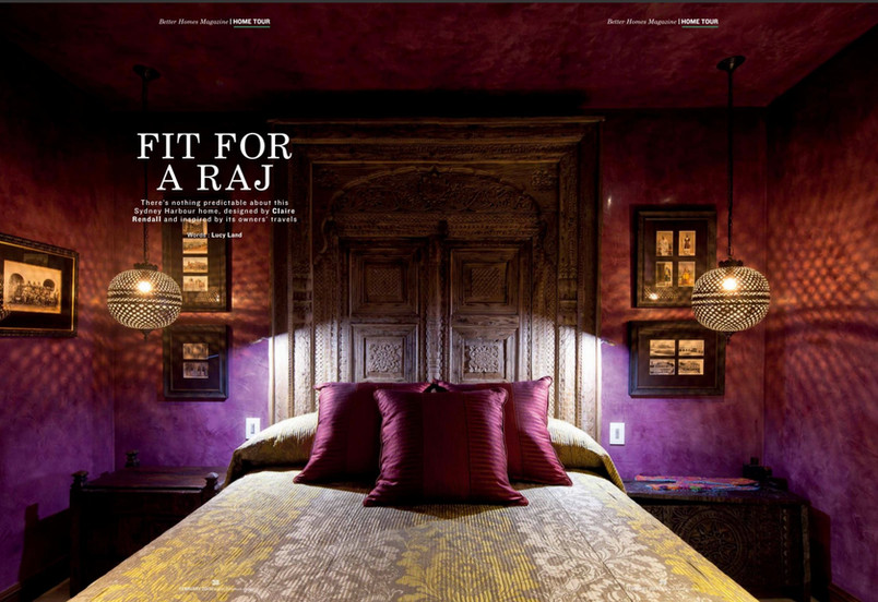 Claire rendall interior design Better Homes Dubai
