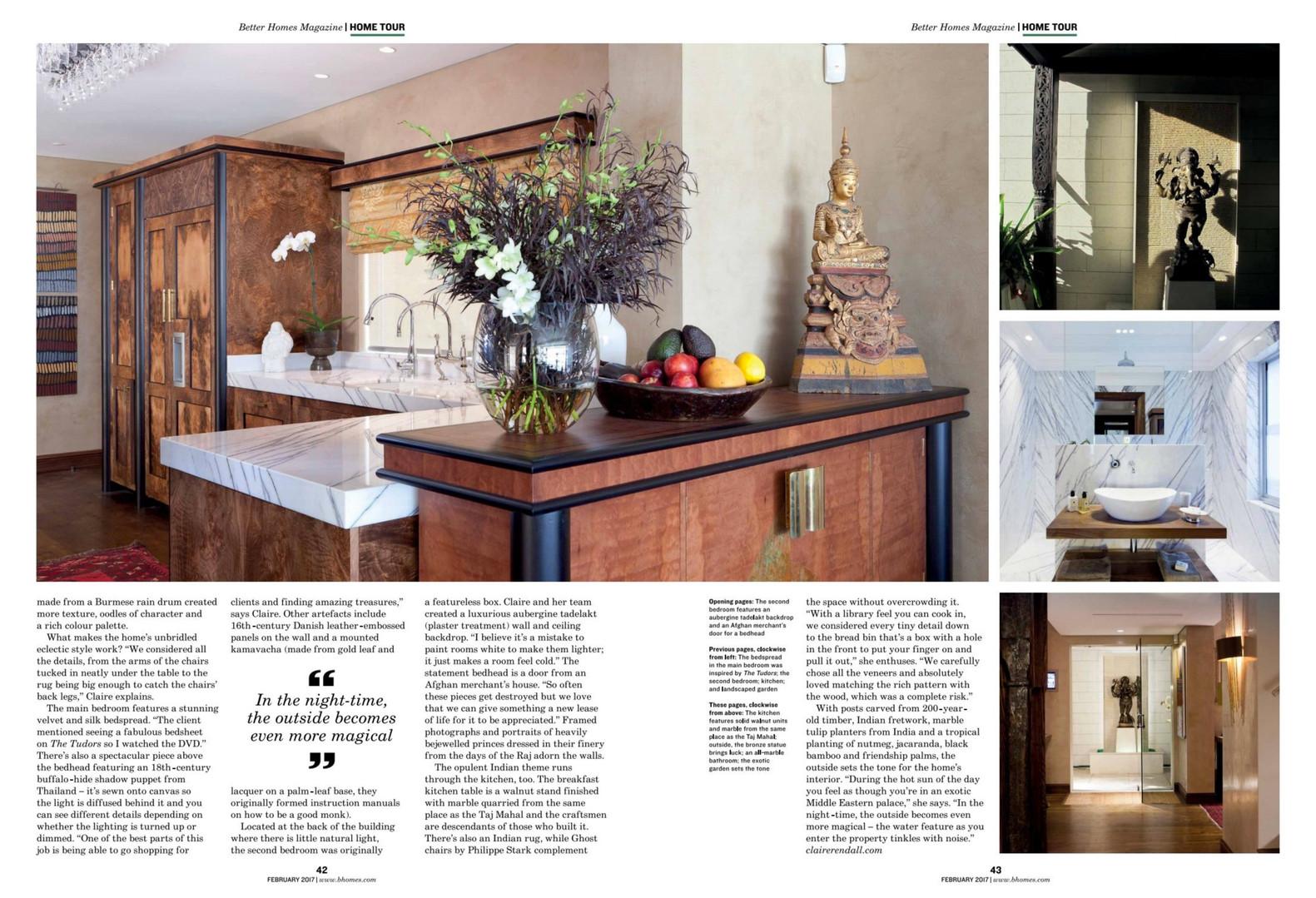 Claire rendall interior design Better Homes Dubai 3