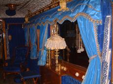 Claire Rendal Interior Design - Queen Victorias train
