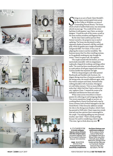 Claire rendall interior design 25 Beautiful Homes 5
