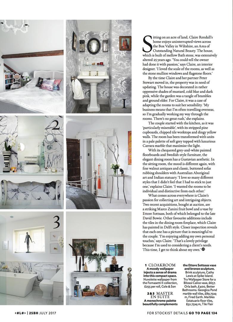 Claire rendall interior design 25 Beautiful Homes 5