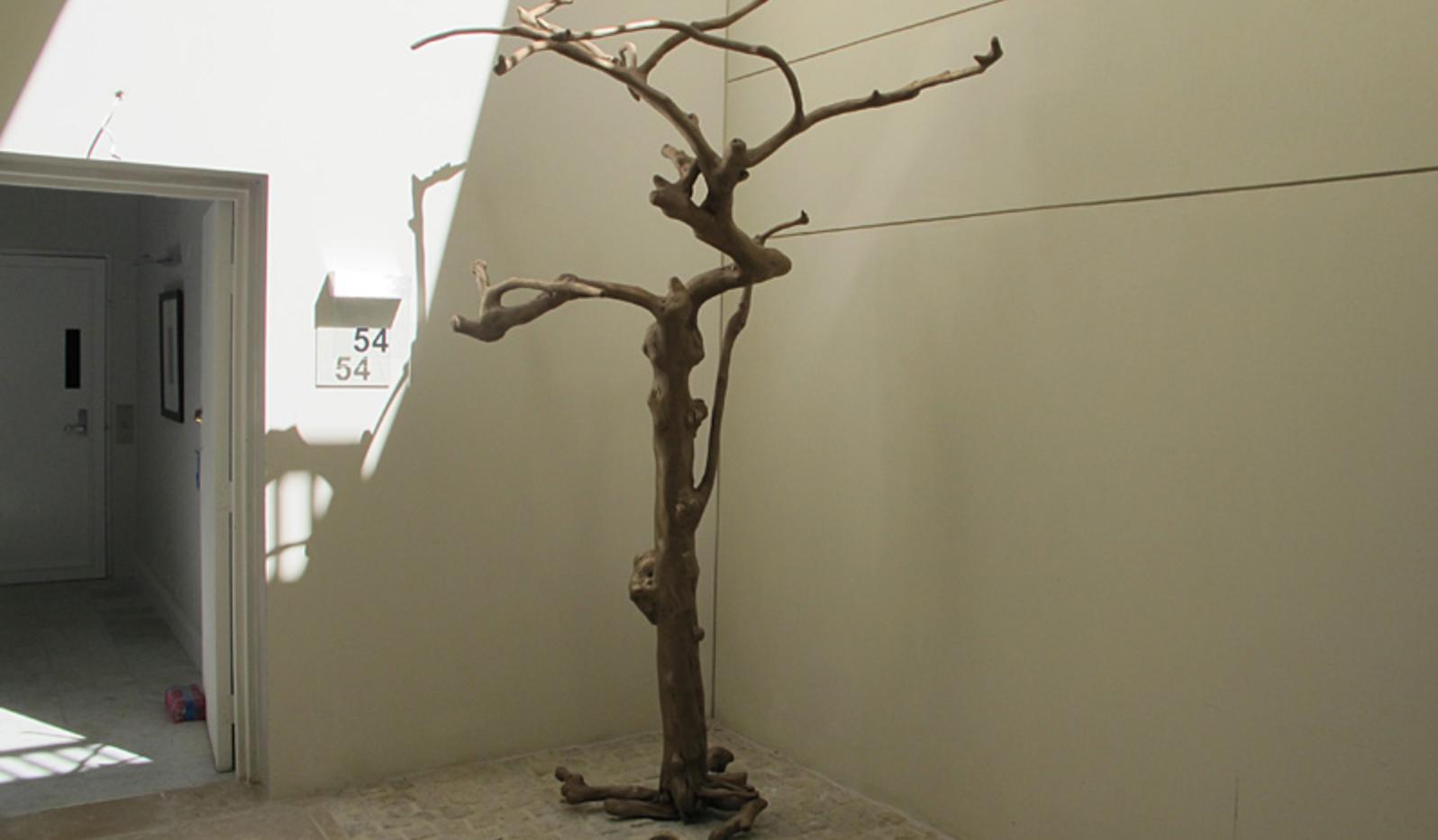 Bronze luxury garage sculpture