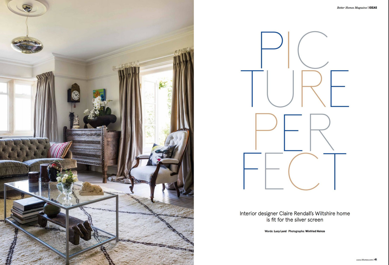 Claire rendall interior design Better Homes Page