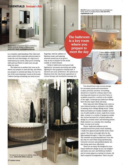 July Column Claire rendall interior design